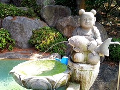 Water fountain; Yakcheonsa Temple