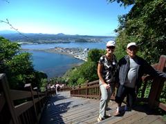 Becky and Dung Sau; Seongsan Ilchulbong Peak