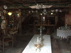 Interior of Yap Sandiego Ancestral House