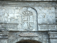 Detail on Fort San Pedro; Cebu
