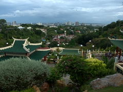 View looking back over Cebu city from the Taoist Temple
