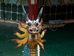 Taoist temple detail