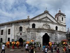 Exterior view of Basilica del Santo Niño