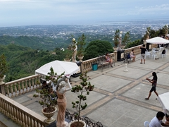 Fine views looking down on Cebu from Temple of Leah