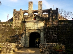 Entrance to Fort San Pedro