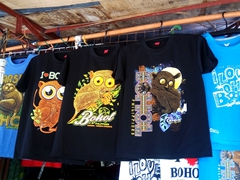T-shirts for sale; Hinagdanan Cave
