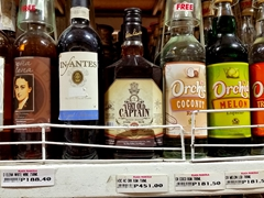 "Alcohol in Philippines is dirt cheap...fancy some ""Very Old Captain""?"