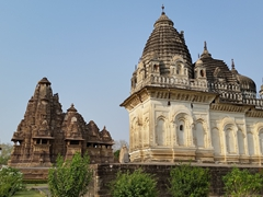 A mixture of Hindu, Buddhist, and Jain temples make up the Khajuraho Temple Complex, which is a UNESCO world heritage site