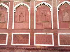 Faux window detail; Agra Fort