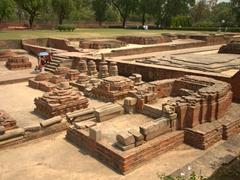 Where Lord Buddha gave his first sermon; Sarnath