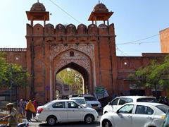 One of Jaipur's many old city gates