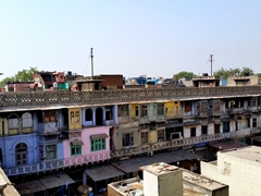 Rooftop view of the spice market; Chandni Chowk