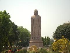Lord Buddha Statue; Sarnath