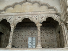 Throne alcove inside the Diwan-i-Aam (Hall of Audience); Agra Fort