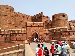 Entrance to the Agra Fort