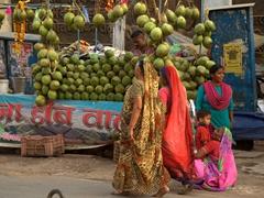 Street scene; Varanasi
