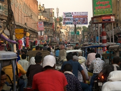 Late afternoon traffic jam; Varanasi