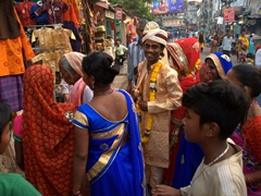 Wedding party; Varanasi
