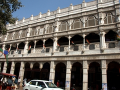 Handsome old building near Chandni Chowk
