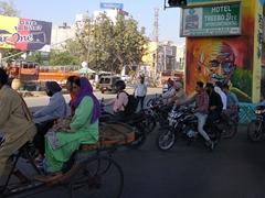 Gandhi mural; Amritsar