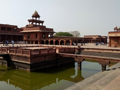 Anup Talao, one of Fatehpur Sikri's water tanks
