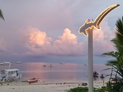 Our last sunset on Malapascua Island