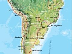 31 weeks to visit Ecuador, Peru, Bolivia, Chile, Argentina, Brazil, French Guiana, Suriname, Guyana, Venezuela, & Colombia!