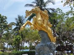 Park statue; Nha Trang