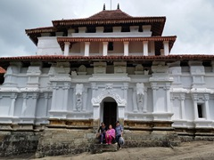 Ancient Buddhist temple of Lankatilaka Vihara; Udunuwara