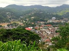 View of Kandy from the Bahiravokanda Vihara Buddha statue