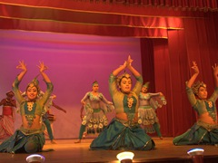 We enjoyed the hour long cultural show. Be sure to book tickets online to score front row seats (price is the same online or in person, Rs 1000 per adult)