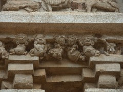 Fantastic stone carvings of the Thivanka Image House