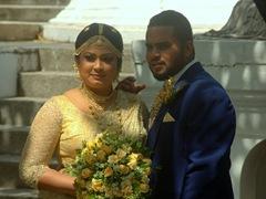 Wedding photo session; Seema Malaka Temple