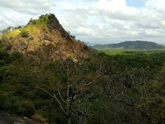 Scenery on our climb up to Dambulla Cave Temple