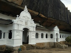 There are five caves (shrine rooms) at the Dambulla Cave Temple complex