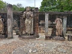 Buddha statues; Sacred Quadrangle