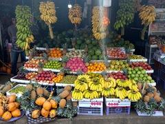 Road side fruit stand; Kaduruwela