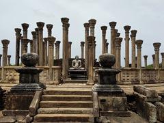Medirigiriya Vatadage, a Buddhist monastery from the 3rd century BC and 13th century AD