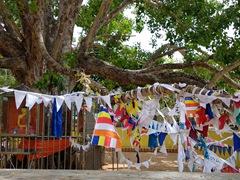 Prayer flags; Medirigiriya Vatadage