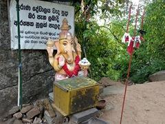 Hindu God Ganesh; near Aukana Buddha Statue