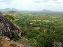 Amazing vistas from the top of Yapahuwa