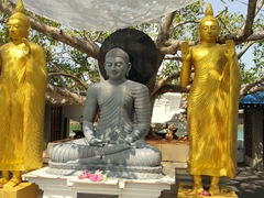 Courtyard; Seema Malaka Temple