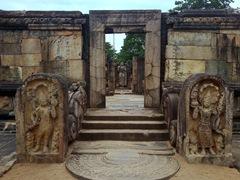 Temple opposite the Vatadage; Sacred Quadrangle