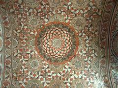 Temple ceiling, Lankatilaka Vihara