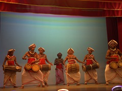 Cultural dance show; Kandy Lake Club