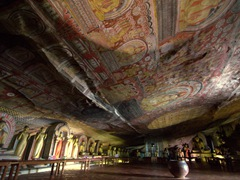 Jaw dropping frescoes and Buddha Statues; Dambulla Cave Temple