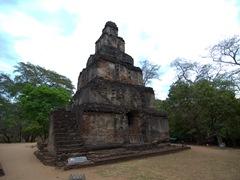 Seven storey Satmahal Prasada; Sacred Quadrangle