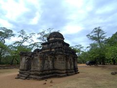 Shiva Devale No. 2, one of the few Hindu temples remaining in Polonnaruwa