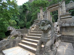 Yapahuwa Lion stone sculpture, which was on the old  Rs 10 note