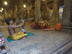 Interior view of Shri Ponnambalawaneswaram Kovil